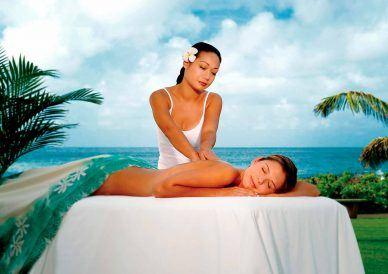 woman doing massage